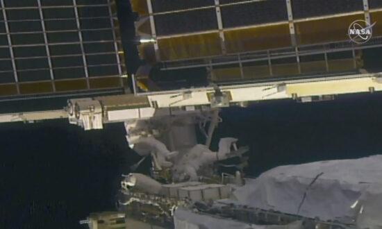 Take 2: Spacewalking Astronauts Install New Solar Panel