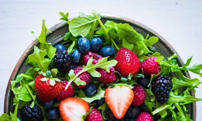 Berries are a super source of vitamin C, which has a long history as a stress reducer. (Alena Haurylik/Shutterstock)