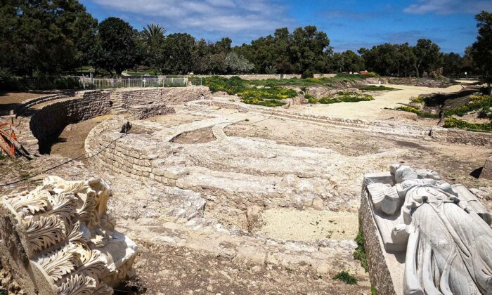 (Courtesy of Yaniv Cohen/Nature and Parks Authority via Israel Antiquities Authority)