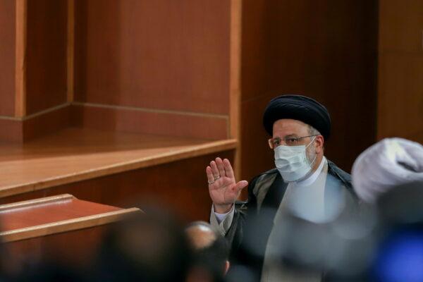 Iran's President-elect Ebrahim Raisi