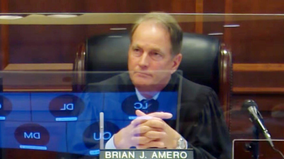 Judge Brian Amero photo