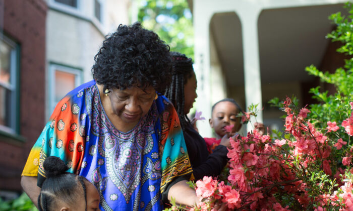 Sharonell Fulton has fostered more than 40 children in the last 25 years in partnership with Catholic Social Services in Philadelphia (Courtesy of Becket)