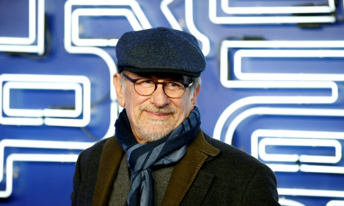Director and producer Steven Spielberg attends the European Premiere of Ready Player One in London, Britain, on March 19, 2018. (Henry Nicholls/Reuters)