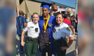 Deputy Comforts Teen Who Rear-Ended Her Cruiser and Attends His Graduation the Next Day