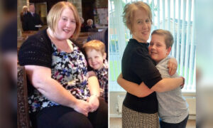 280lb Mom Too Obese for Hugs Slims Down to Size 8 to Cuddle Son: 'He Had Faith in Me'