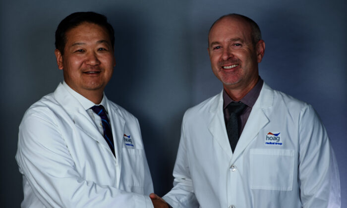 Dr. Joomoo Yang and Dr. Michael Haga, members of Hoag Medical Group that will bring the Hoag experience to patients and ease their way to receive the support and medical attention they need to effectively manage long-term needs. (Courtesy of Hoag Hospital Presbyterian)