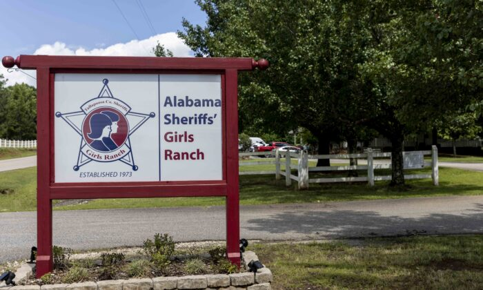 The Alabama Sheriff's Girls Ranch in Camp Hill, which suffered a loss of life when their van was involved in a multiple vehicle accident, on June 19, 2021, resulting in eight people in the van perishing, Ala., on June 20, 2021. (Vasha Hunt/AP Photo)