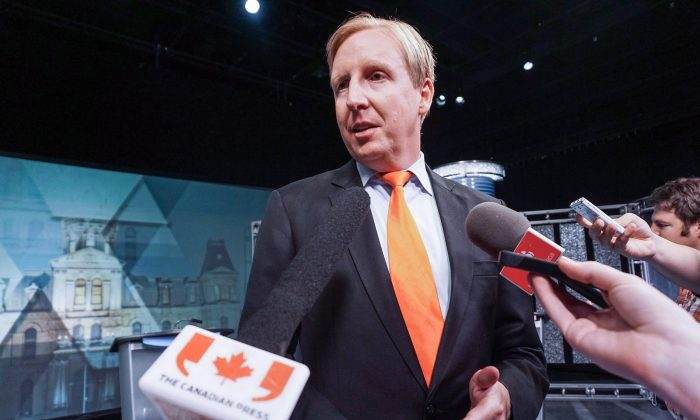 New Brunswick Education Minister Dominic Cardy in a file photo. (Marc Grandmaison/The Canadian Press)