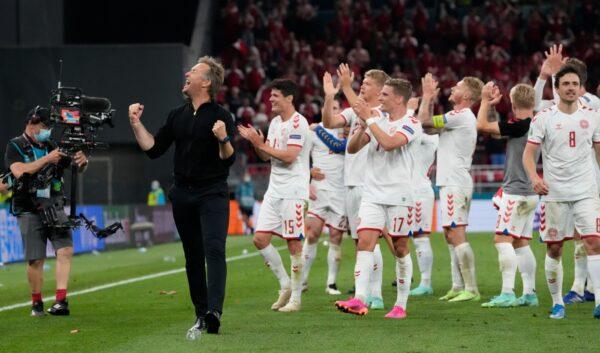 denmark-team-celebrates