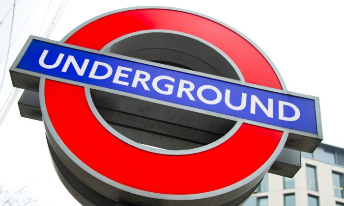 A London Underground roundel in an undated file photo. (Ian West/PA)