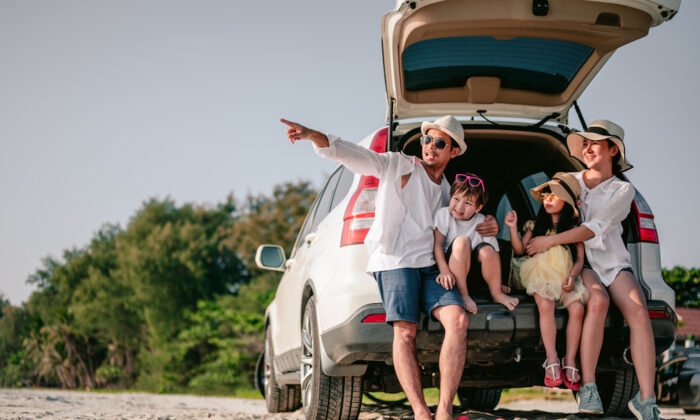 If you're heading on a road trip, take your car in for a tune-up. (Day Of Victory Studio/Shutterstock)