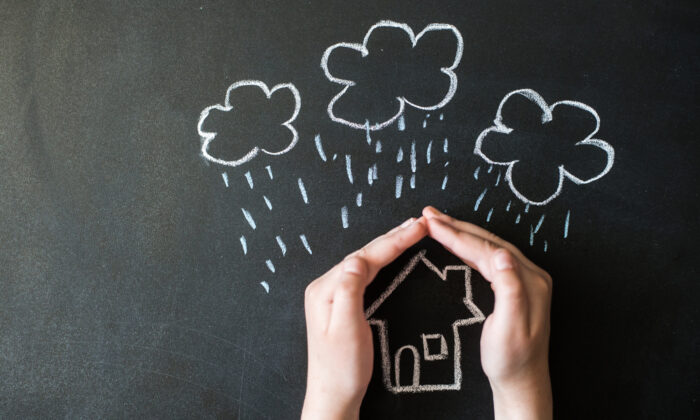 Having an up-to-date homeowner's insurance policy is good risk management. (shpakdm/Shutterstock)