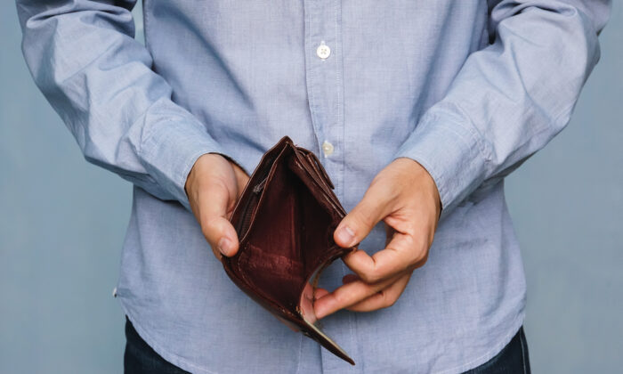 The sting of bankruptcy is not likely to ever go away completely. (diy13/Shutterstock)