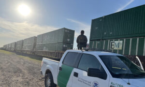 3,390 Illegal Aliens Caught on Trains in Uvalde, Texas; Up From 372 Last Year