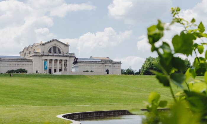 The St. Louis Art Museum in Forest Park occupies the magnificent Palace of Fine Arts, which was erected for the 1904 World's Fair. (Dennis Lennox)