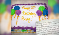 Mom Buys Birthday Cake From Publix for Son—Finds Anonymous Note Inside That Brings Her to Tears
