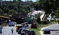 Pedestrian Bridge Collapses Over DC Highway, Injuring 5