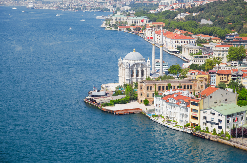 The,View,Of,Ortakoy,Mosque,And,The,Houses,On,The