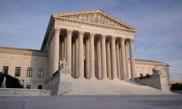 The Supreme Court in Washington in a Nov. 5, 2020 file photo. (J. Scott Applewhite/AP Photo)