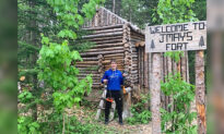 Teen Spends Over 1,200 Hours Building a 35-Foot Wooden Fortress by Hand in His Backyard