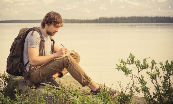 Writing can help us to look inside and see our traits, feelings, and beliefs. (everst/Shutterstock)