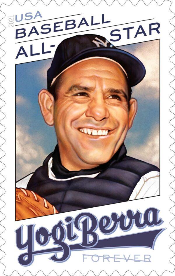 Yogi Berra Stamp