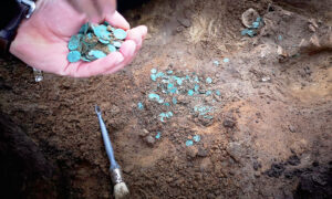 Archaeologists Unearth Thousands of Medieval Coins in a Farmer's Field in Hungary