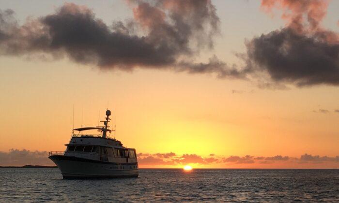 Scott's new life takes him from island to island. (Howard T. Scott)