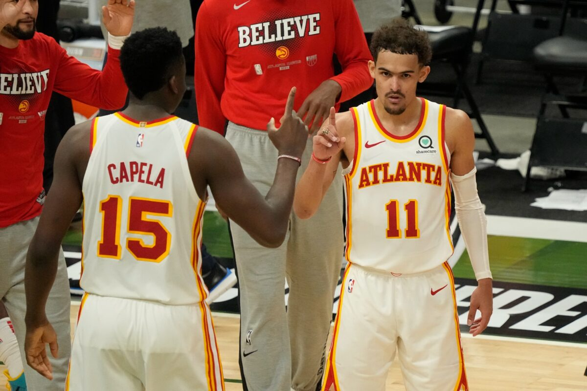 Trae-Young-and-Clint-Capela