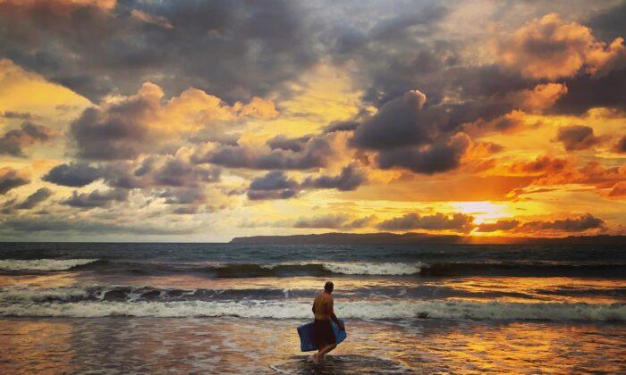Sunset colors in Zancudo. (Tami Ellis)