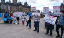 Uyghur Protesters Rally at Parliament Hill as Part of Global Effort Against Beijing Winter Olympics 2022