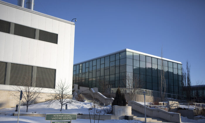 The Vaccine and infectious Disease Organization is shown at the University of Saskatchewan in Saskatoon on Feb. 5, 2021. (The Canadian Press/Kayle Neis)