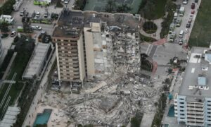 Death Toll Rises to 4 in Miami Surfside Building Collapse, 159 Still Unaccounted For