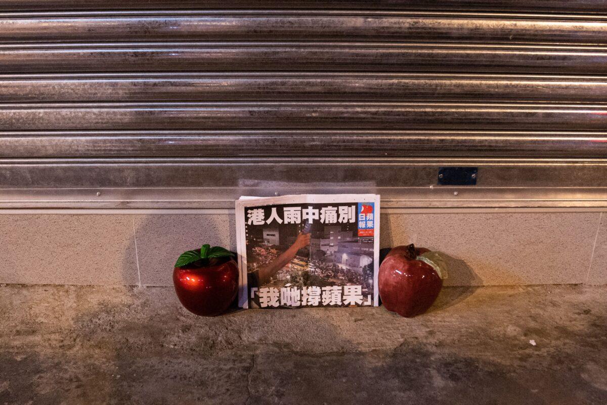 TOPSHOT-HONG KONG-CHINA-POLITICS-MEDIA