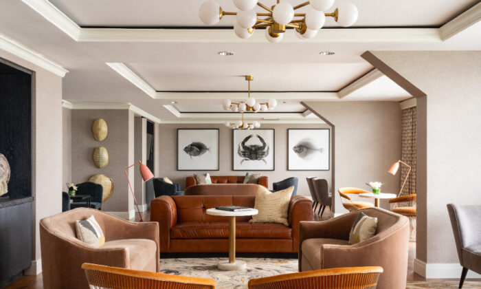 The Club Lounge at The Ritz-Carlton, South Beach. (Courtesy of The Ritz-Carlton, South Beach)