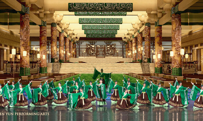 A performance by Shen Yun Performing Arts classical Chinese dancers. (Courtesy of Shen Yun Performing Arts)