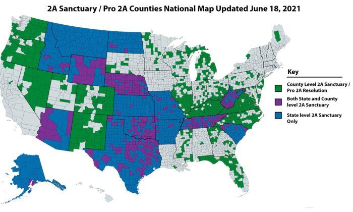 (Sanctuary Counties)