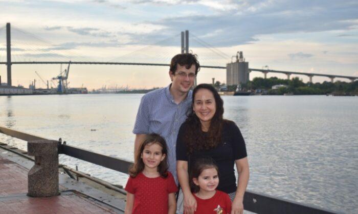 The Scott family. (Courtesy of the Scott family)