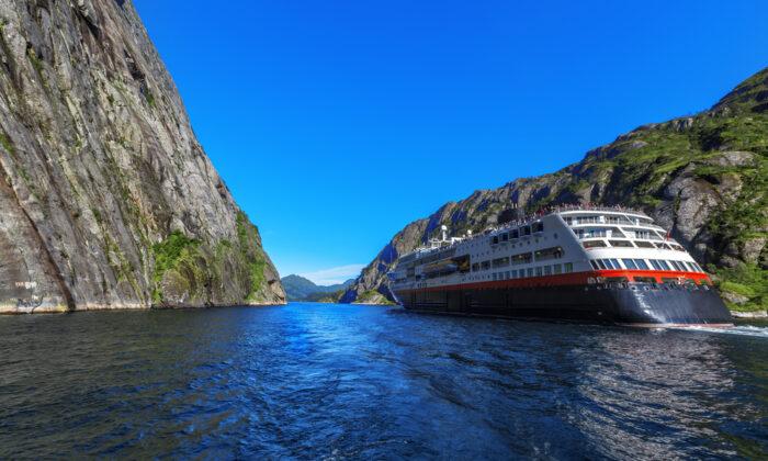Cruising through the Lofoten Islands, Norway. (May_Lana/Shutterstock)