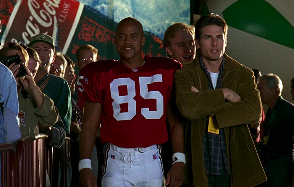 """football player and agent in """"Jerry Maguire"""""""