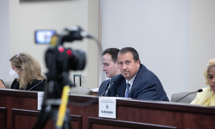 House State Government Committee Chairman Seth Grove (right) is the primary sponsor of the Voting Rights Protection Act (House Bill 1300) (Courtesy to Seth Grove)