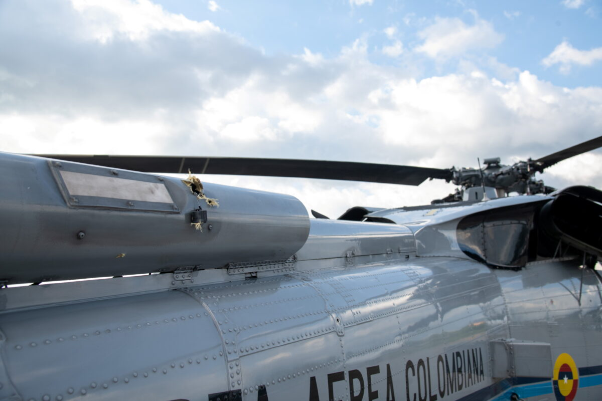 colombia-president-helicopter-attacked