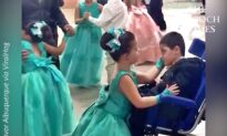 Sweet Sister Includes Little Brother in Graduation Ceremony