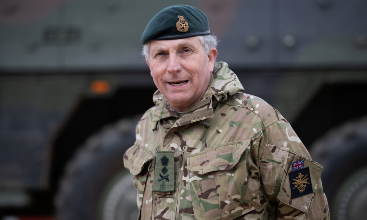 UK Chief of the Defence Staff, General Sir Nick Carter