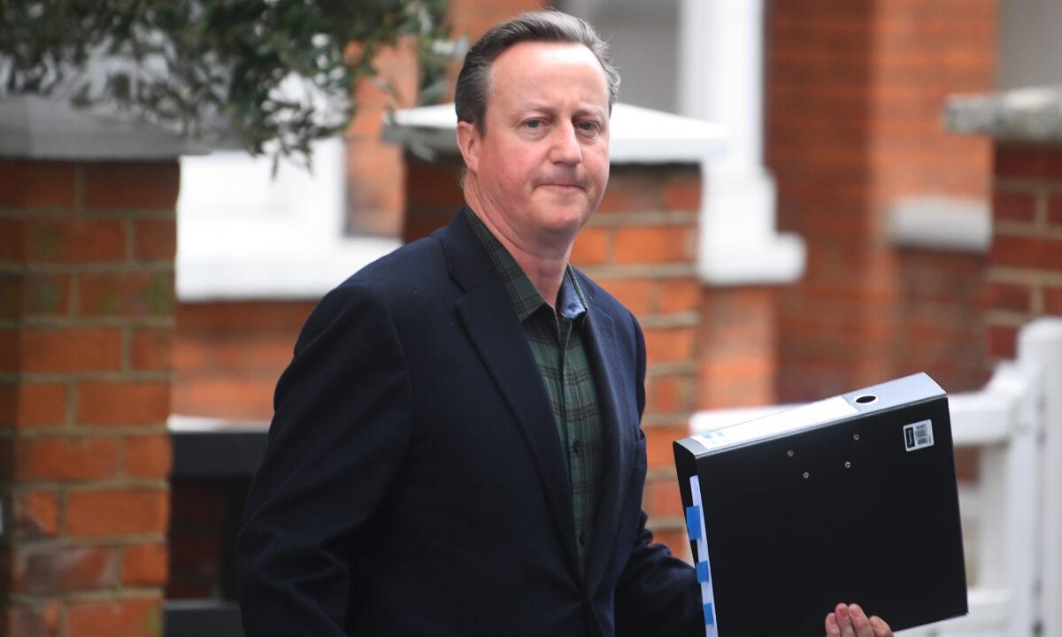 David Cameron Greensill