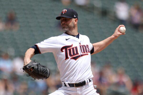 Minnesota Twins' pitcher J.A. Happ