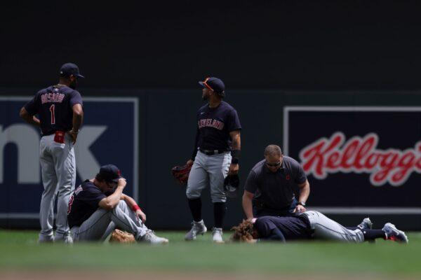 Cleveland Indians' Josh Naylor