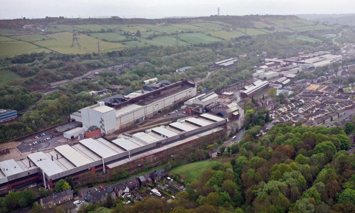 Liberty Steel Stocksbridge steel plant