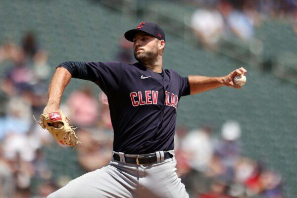 Cleveland Indians' pitcher Sam Hentges