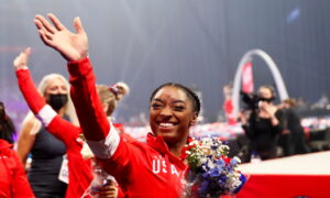 Biles Leads Band of Olympic Newcomers to Tokyo